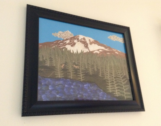 RainierPrintFramed